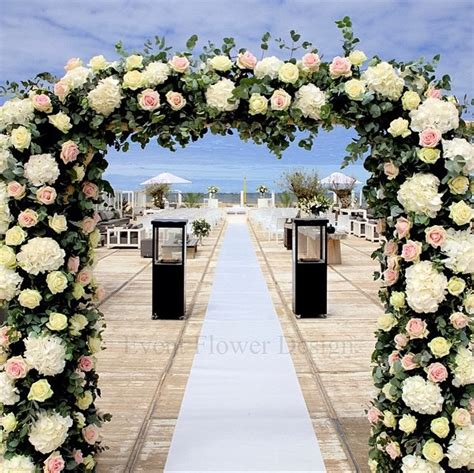 Wedding Arch Floral by Floral Wedding Arch Meijer Roses