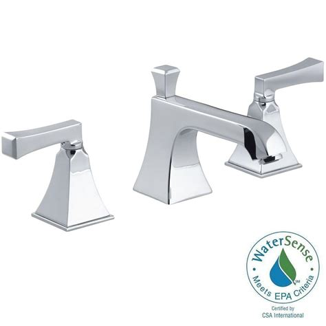 kohler memoirs 8 in widespread 2 handle low arc water