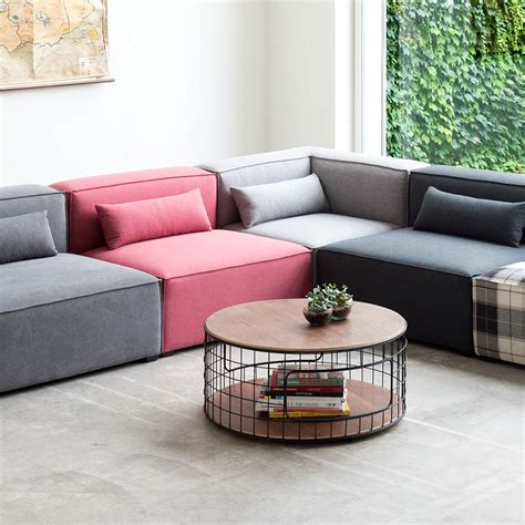 modular sectional sofa with ottoman mix modular sofa sectional hip