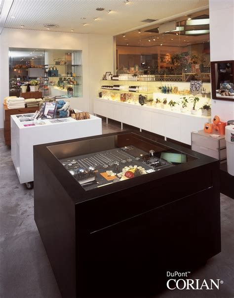 Corian Retailers Shop Fitting Retail Dfmk Solid Surface Milton Keynes