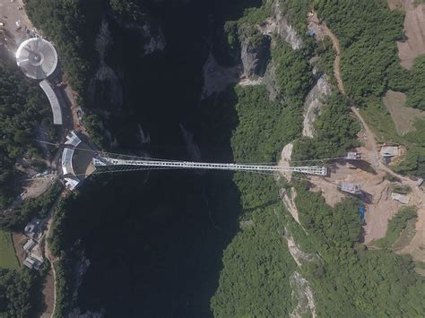 swing asia china s long awaited zhangjiajie grand canyon glass bridge