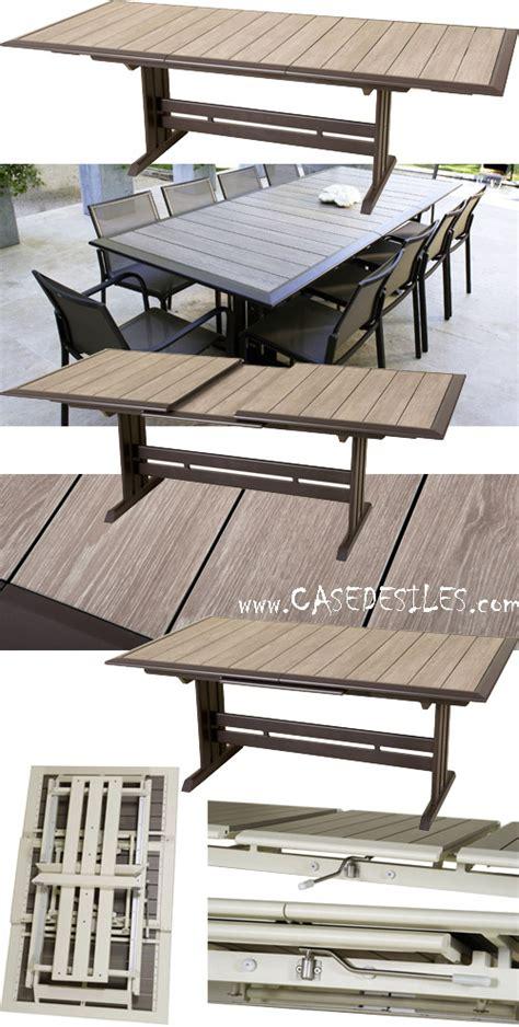 Ordinary Table Haute De Jardin Tresse #8: Table-jardin-alu-design-extensible-pliante-969.jpg