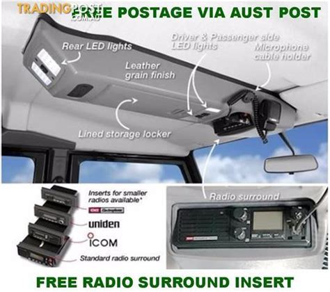 100 Floors Stage 42 by Outback Accessories Roof Consoles 4x4 Toyota Landcruiser