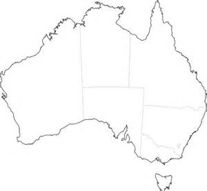 A Blank Map Of Australia by Free Outline Maps Of Australia And World