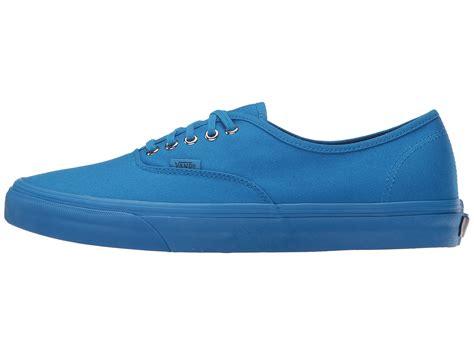 Vans Authentic Primary Mono Imperal Blue vans authentic at zappos