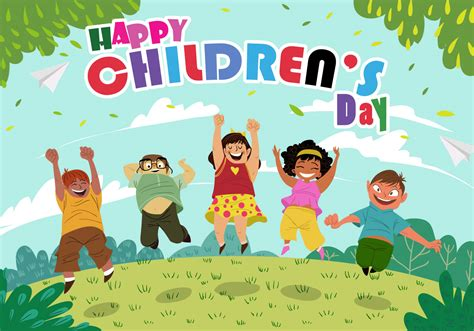 s day vector happy childrens day free vector stock