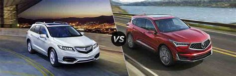 Acura Mdx 2019 Vs 2020 by 2019 Acura Mdx Vs 2019 Acura Rdx 2019 2020 Suvs2019