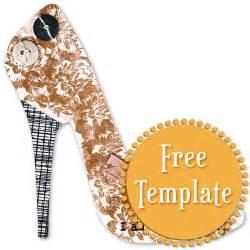 High Heel Paper Shoe Template by Best Photos Of Stiletto Shoe Template Paper High Heel