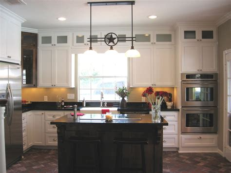 upper kitchen cabinets with glass doors texas lone star kitchen with custom cabinets stacked