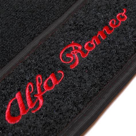 Alfa Romeo Floor Mats by Alfa Romeo 147 Gt Floor Mats Black Rhd Italian Auto