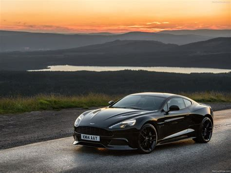 aston martin blacked aston martin vanquish carbon edition 2015