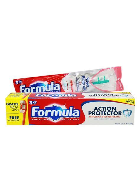 Pasta Gigi Formula formula pasta gigi aksi protector tub 190g klikindomaret