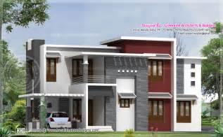 2540 square contemporary house design home kerala plans
