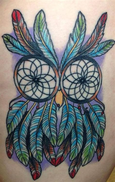 tattoo inspiration dreamcatcher dreamcatcher owl tattoo more inspiration tattoos