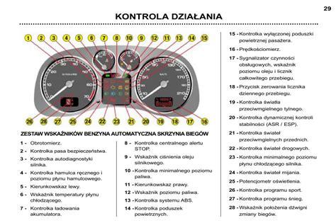 peugeot 307 manual pdf manual peugeot 307 sw peugeot 307 sw instrukcja page 25 pdf