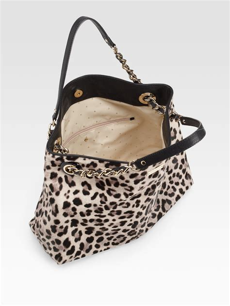 Bag Animal Zebra lyst kate spade new york darya haircalf leather tote bag