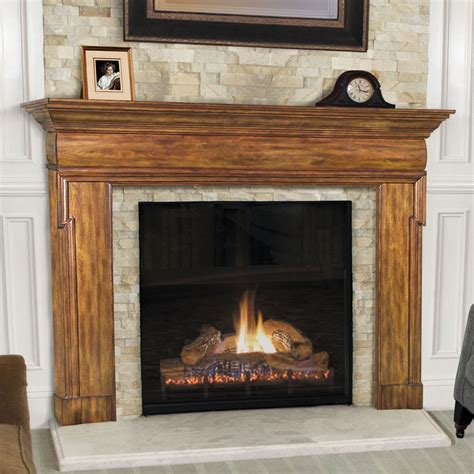 Wood Mantels For Fireplace by Pearl Mantel Hermitage Fireplace Mantel Surround