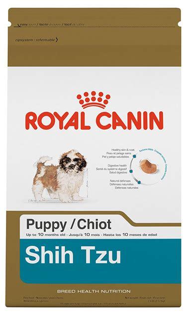 royal canin shih tzu puppy shih tzu puppy food royal canin