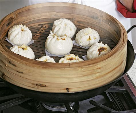 how to steam buns steamed pork buns finecooking