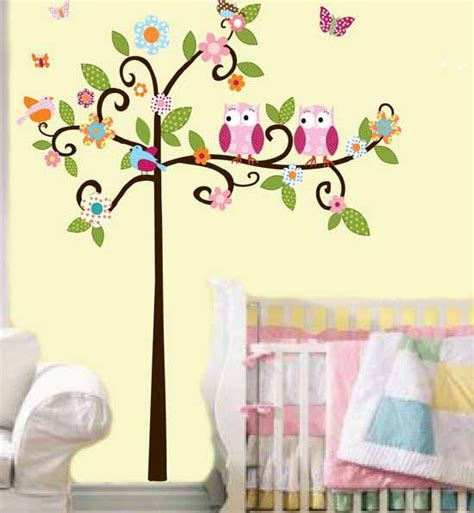 kids room wall decor birds inspired wall decoration ideas for kids modern kids
