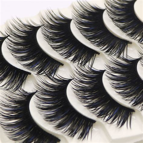 Bioaqua False Eyelashes 10 Pairs 1 5 pairs handmade false eye lashes thick false eyelashes makeup tips cosmetics