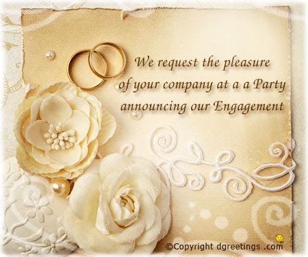 engagement greeting card templates engagement invitation wording engagement