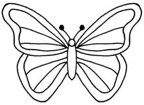 Flying Butterfly Outline by Butterfly Clip Outline Cliparts Co