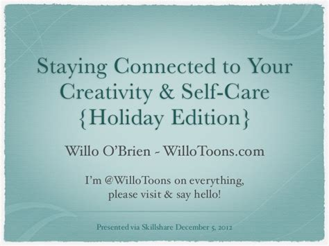 Your Care Connected Birmingham Staying Connected To Your Self Care By Willo O Brien