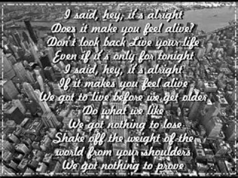 direction alive lyrics midnight memories youtube