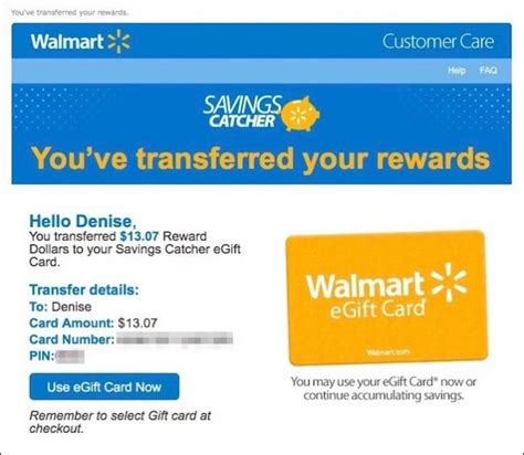 Savings Catcher Gift Card - how to save money with the walmart app s savings catcher
