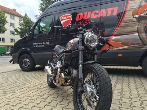 Motorradvermietung In Kassel by Umgebautes Motorrad Ducati Scrambler Icon Von Ducati