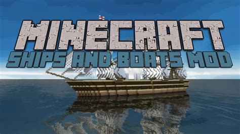 minecraft boat loop minecraft ships and boats mod youtube