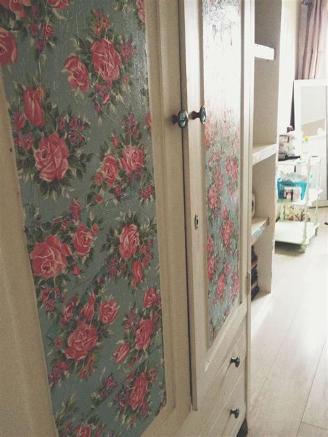 Decoupage Wardrobe - pin by lossing on shabby chic