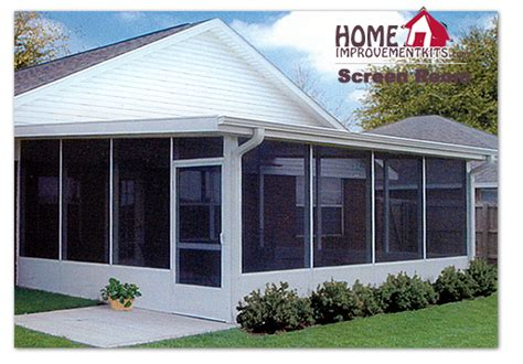Aluminum Screen Room Kits by Screen Room 12 X 18 Screen Wall Kit With A 13 X 20