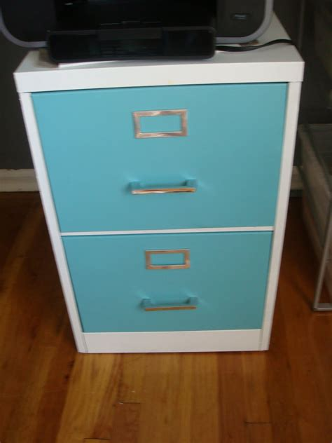 how to paint a filing cabinet modern diy how to paint a metal filing cabinet for 40