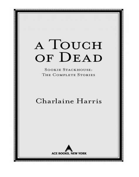 Read A Touch Of Dead Online Read Free Novel - Read Light