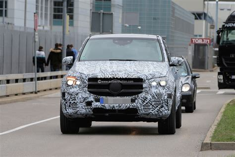 mercedes dealership inside 2019 mercedes benz gle spied inside and out dashboard