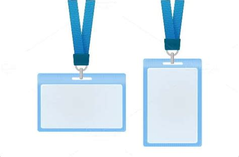 blue id card template 40 blank id card templates psd ai vector eps doc
