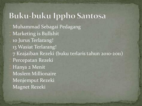 Magnet Rejeki Ippho Santosa biografi ippho santosa inspirasi bisnis