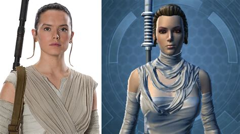 How to Look like Rey in SWTOR (Character Customization and