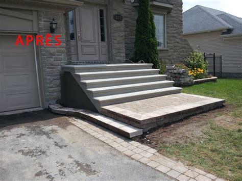 dalle exterieur 514 construction nola escalier balcon dalle trottoir en