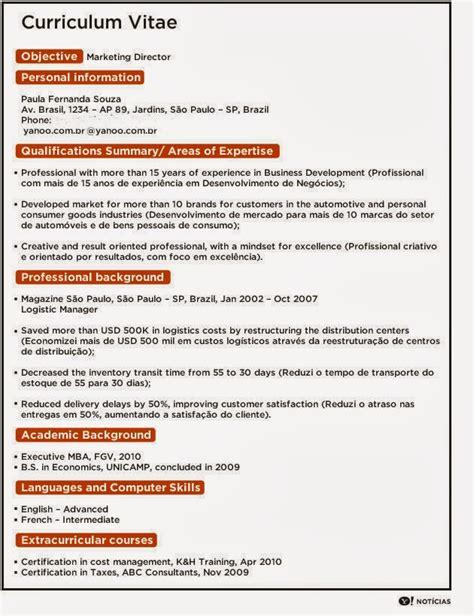 Modelo Curriculum Ingles Nilda Ingl 202 S 3 176 Ensino M 201 Dio Cep