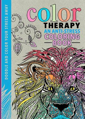 anti stress coloring book barnes and noble color therapy an anti stress coloring book by wilde