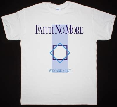 We Care T Shirt Black by Faith No More The Real Thing 89 Mike Patton Mr Bungle