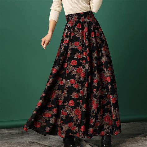 2in1 Maxi Uniq skirts with simple trend in ireland playzoa