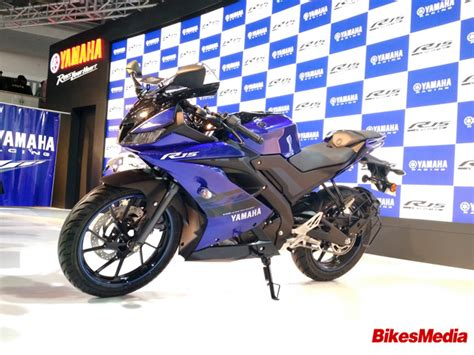 Auto Expo Launches by Yamaha Launches Yzf R15 V 3 0 At Auto Expo 2018