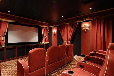 Movie Theater Decor For The Home | inspire home theater design ideas for remodel or create