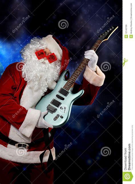 musical santa royalty free stock images image 12140799