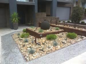 Modern Rock Garden Landscaping And Garden Design Melbourne Landscapes