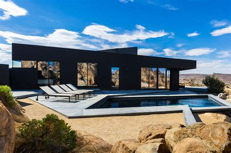 modern desert home design modern desert home with courtyard pool and views